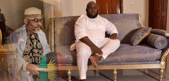 """Only Biafra can save Niger-Delta"" - Nnamdi Kanu replies Asari Dokubo"