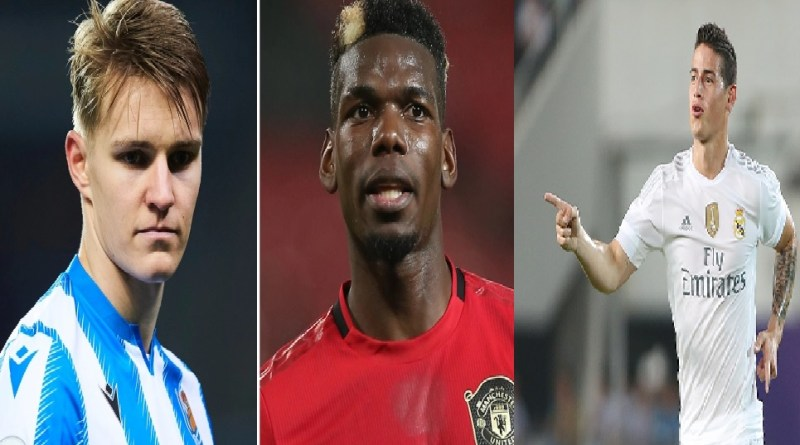 Real Madrid offer Man Utd 4 star-players for Paul Pogba in summer transfer swap deal