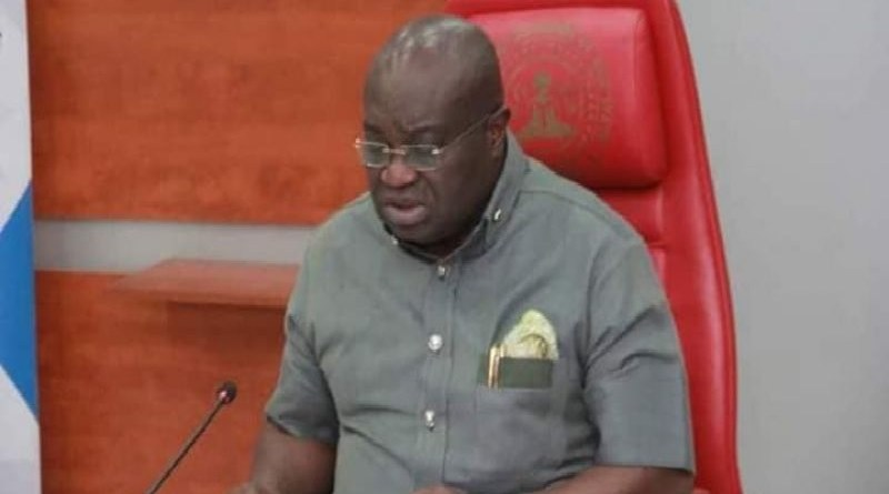BREAKING: Gov Ikpeazu tests positive for COVID-19, goes into isolation, hands over to deputy