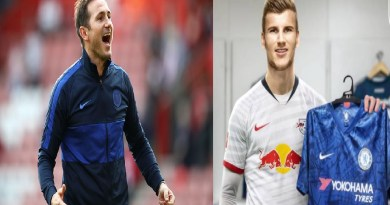 Chelsea News: Timo Werner jersey's number revealed, as Lampard gets credit for signing striker