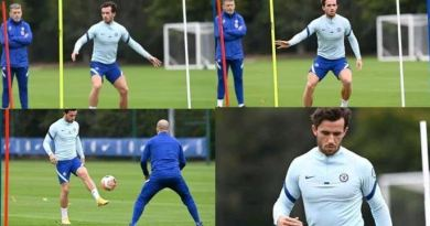 VIDEO: See what Ben Chilwell was doing at training ahead of Tottenham vs Chelsea