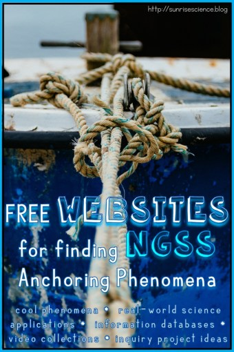Free Websites for Finding NGSS Anchoring Phenomena