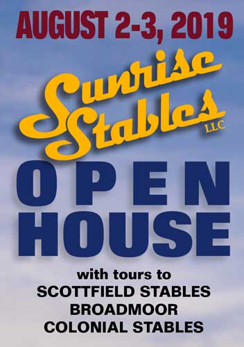 2019 Sunrise Stables Open House