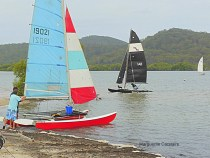 Sailing at Sandy Beach