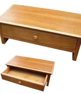 Monitor Stand in Cherry
