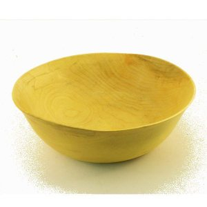 wooden bowl hand turned in Maple
