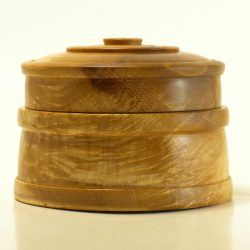 Lidded Box in Maple