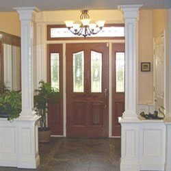 Wainscot divider with columns