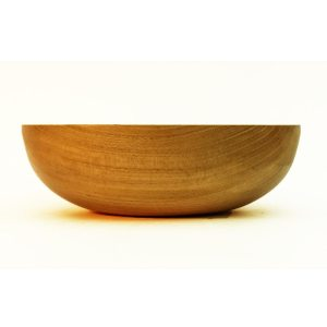 Hand Turned Bowl in Beech Wood.