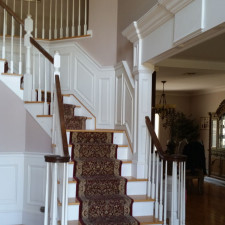 Raised Panel Wainscot with Grand Arch