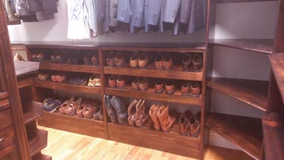 Rustic Pine Shoe Rack