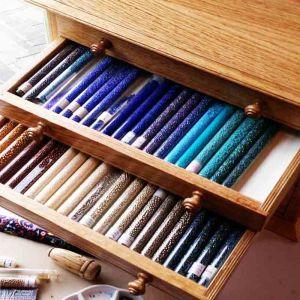 6 Drawer Bead Cabinet in Oaik