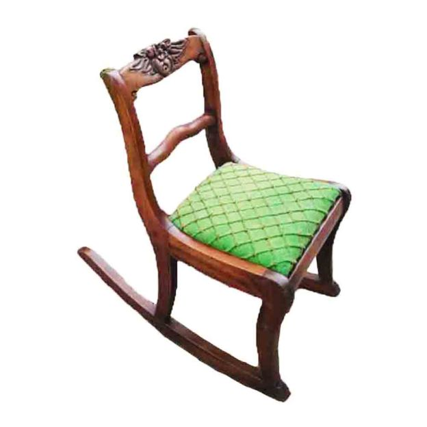 Restoring An Antique Childs Rocking Chair