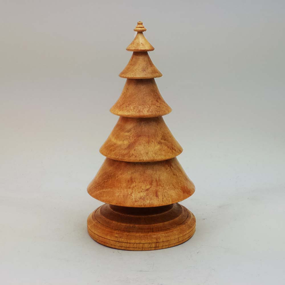 Christmas Tree From Wood: Wood Christmas Tree In Cherry – Item 509
