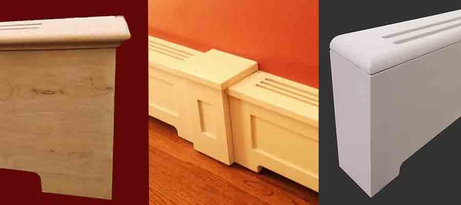 Custom Wood Covers For Baseboard Heaters Sunrise Woodwork