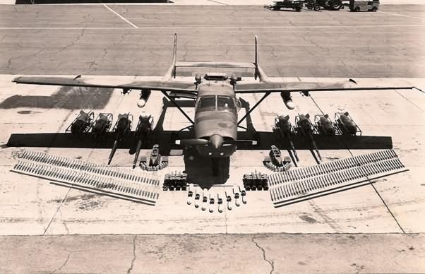 AC-208 Cessna Caravan Modeli Tek Motorlu Taarruz Uçağı Muharebe Görevlerinde