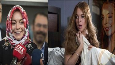 Türkiye'nin İslamcıları Lindsay Lohan'da Umduklarını Bulamadılar