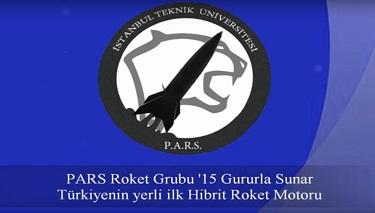 Türkiye'nin İlk Hibrit Roket Motoru