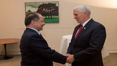ABD Başkan Yardımcısı ile Kürt Başkan Barzani Bağımsızlığı Görüşüyor