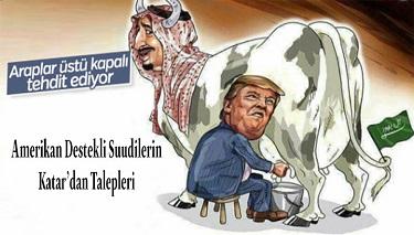 Amerikan Destekli Suudilerin Katar'dan Talepleri