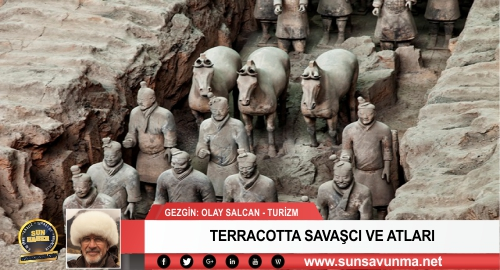 TERRACOTTA SAVAŞCI VE ATLARI