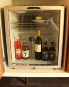Complimentary mini-fridge @ Bernardus Lodge - Staycation - Sunscreenandplanes.com -