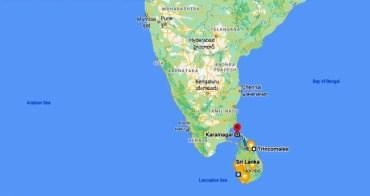 Sri Lanka Navy Dive Site Warships Trincomalee Karainagar indian ocean map