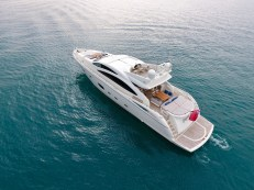 Sunseeker Predator 84 'ELISABETH D' is capable of reaching and incredible 36 knots