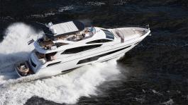 The impeccable Sunseeker 75 Yacht
