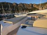 The boat exudes quality in every area, and she is lying in the South of France, where her berth is also available for the next 2 seasons