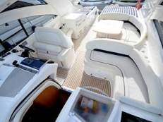 A spacious and stylish cockpit makes the ideal space for relaxing