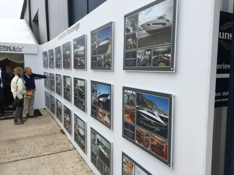 Sunseeker Borkerage was present at the show displaying a range of boats