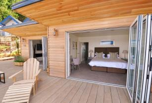 From beach to bed - the Cary Arms has the most beautifully situated accommodation