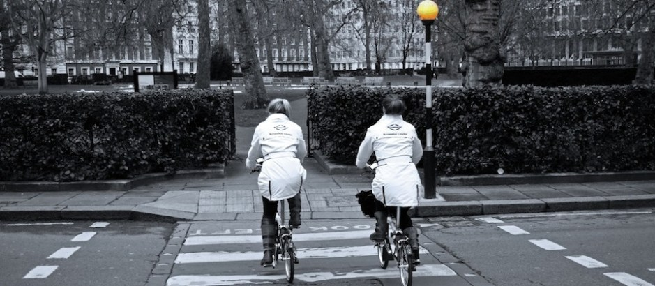 Sunseeker Brompton: A glimpse of the Limited Edition Sunseeker foldable bike in build