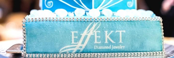 Sunseeker Monaco attend Christmas inspired launch of Effekt Diamond Jewelry
