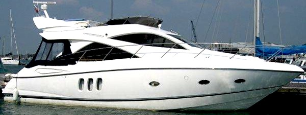 """Sunseeker Manhattan 50 """"MARGARITA"""" completes in just 2 days with Sunseeker Poole"""