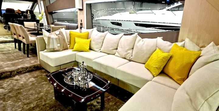 Outside looking in: Sunseeker 75 Yacht interiors revealed