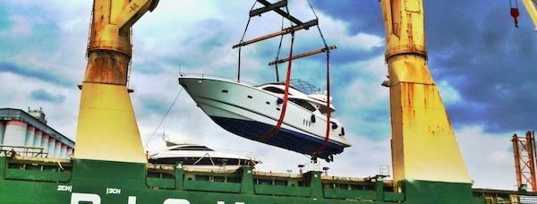 """Sunseeker 82 Yacht """"KEMANA V"""" arrives in Singapore"""