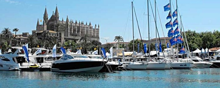 Sunseeker warm up for what promises to be a busy spring on the island of Mallorca