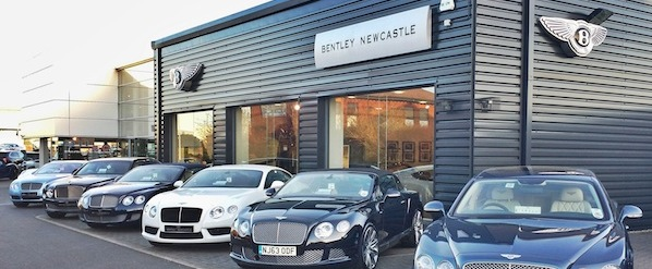 Sunseeker Cheshire attends Bentley Newcastle GT speed evening
