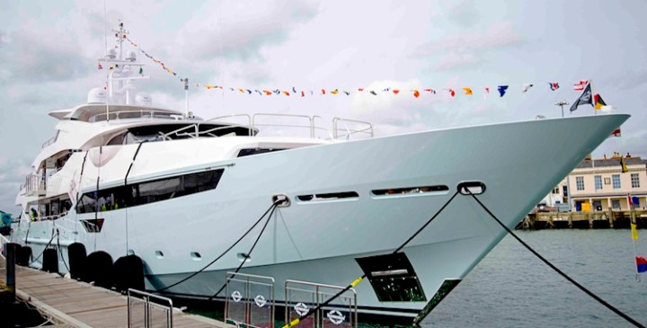 Official British launch of Sunseeker 155 Yacht takes place