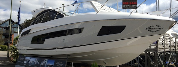 Sunseeker Southampton enjoy busy Easter Weekend in Swanwick