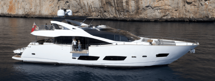 First Sunseeker 28 Metre Yacht bound for Ibiza is nearly completed