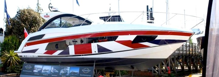 #SunseekerSeason gets underway at the British Motor Yacht Show, Swanwick: May 15th-18th
