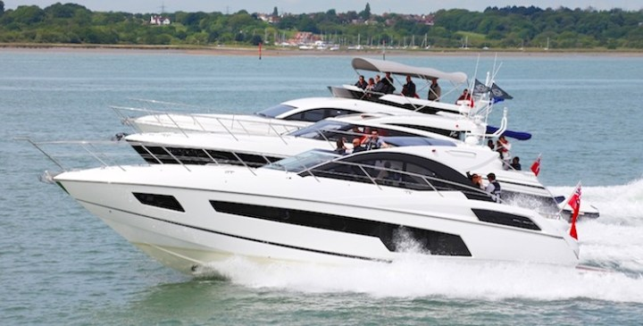 Sunseeker Southampton put San Remo to the test at MBY VIP Sea Trial Day