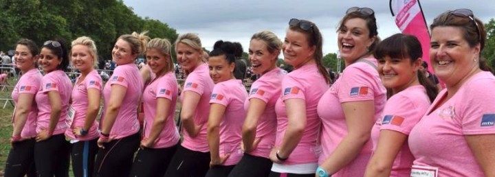 We did it! #SunseekerSprinters run Cancer Research UK Race for Life