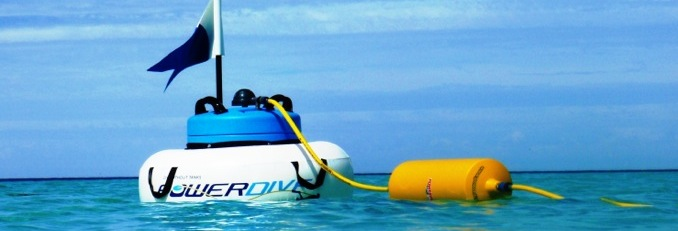 Yacht toys: Dive without tanks with PowerDive