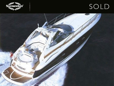 "Sunseeker Hellas have confirmed the sale of the Sunseeker Portofino 46 ""MINI YACHT"""