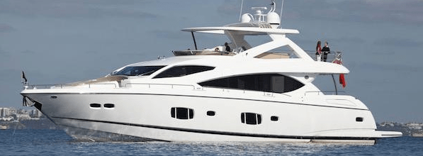 """Sunseeker 88 Yacht """"X CRISTAL X"""" reduced to €2,500,000 with Sunseeker Turkey"""