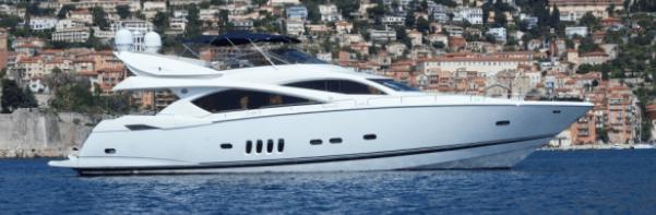 "Sunseeker Poole complete sale of Sunseeker 82 Yacht ""ALCATRES"""